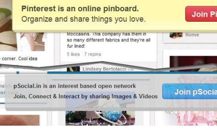 pSocial vs Pinterest
